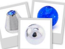 navel replacement balls