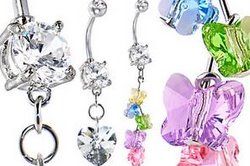 Spring Belly Rings
