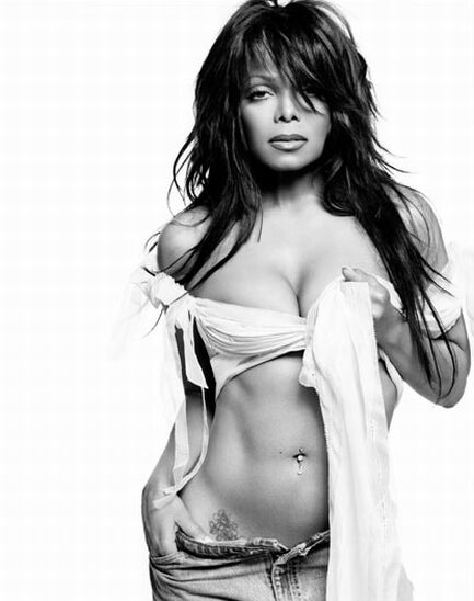 Janet Jackson's Belly Button Piercing